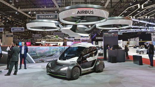 Авіакомпанія взялась втілювати у реальність ідею летючого електрокара