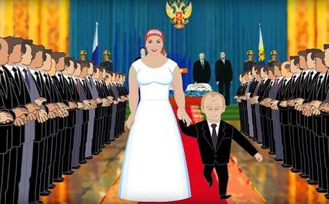 Недоросль-гопник и Россия: появился мультик про владычество Путина