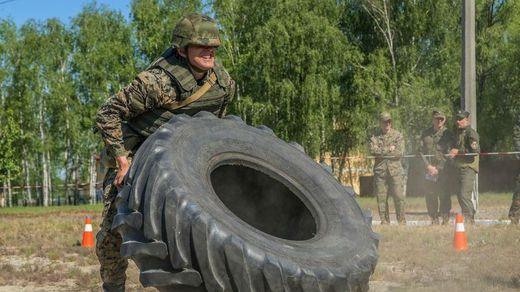 Кросфіт по-армійськи: нацгвардійці влаштували масштабні змагання на Київщині