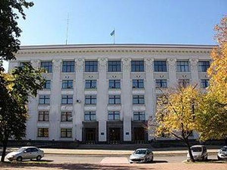 Здание Луганской ОГА