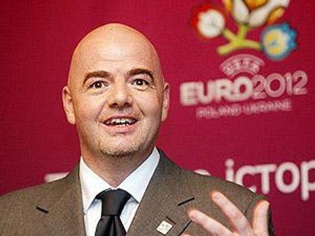 Генеральний секретар УЄФА Джані Інфантіно