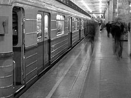 В метро Киева были проблемы