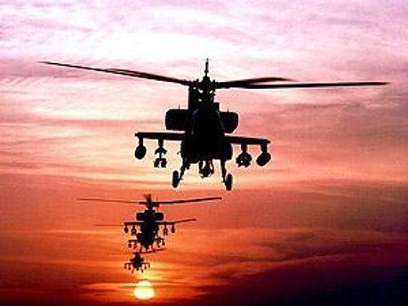 Британия уже выделила ударные вертолеты