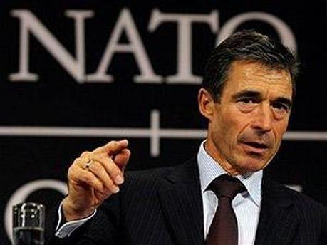 Генеральній секретарь НАТО Андерс Фог Расмуссен
