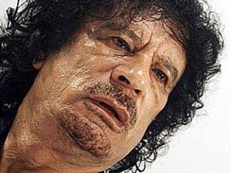 Лидер Ливии Муамар Каддафи