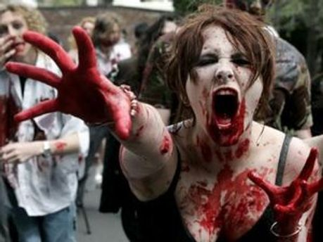 В Лестере боятся нападения зомби