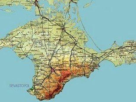 Крым хотят превратить в область