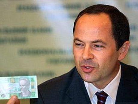 Віце-прем'єр-міністр — міністр соціальної політики Сергій Тігіпко