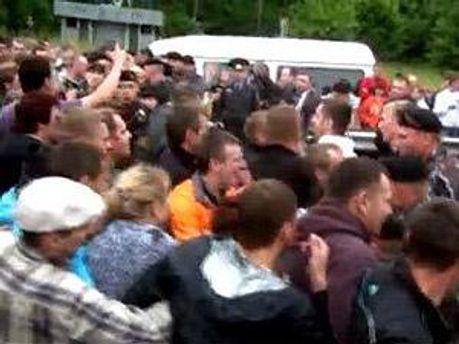 В Білорусі затримали учасників акції протесту
