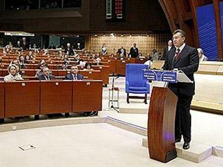 Выступление Януковича запланировано на 21 июня
