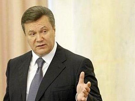 Янукович рассказал о прессе
