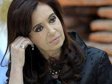 Президент Аргентини Крістіна Фернандес де Кіршнер