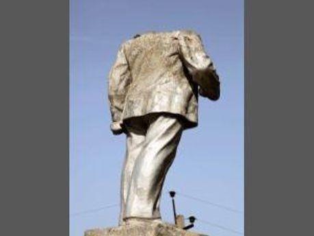 Памятник Ленину на Сумщине