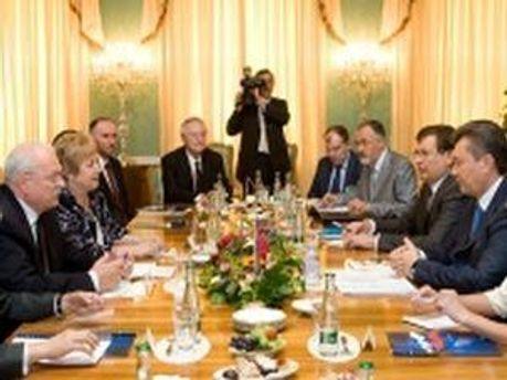 Подписание украинско-словацких документов