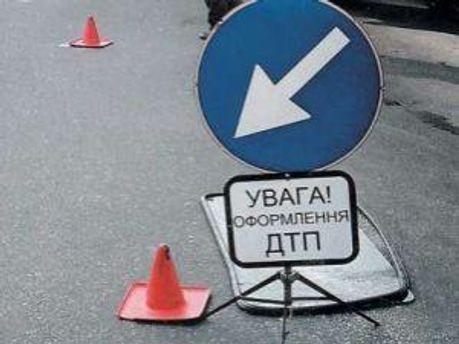 В Мелитополе столкнулись грузовик и легковой автомобиль, есть жертвы