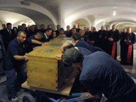Гроб Иоана Павла ІІ