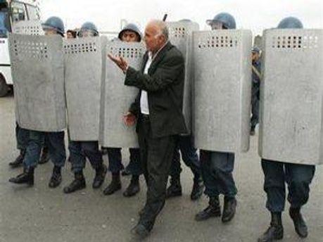Так полиция предотвращала акцию протеста