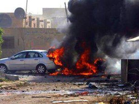 Террористы напали на дипломатический кортеж