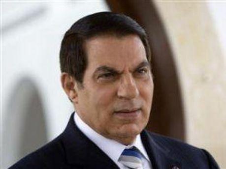 Бывший президент Туниса Бен Али