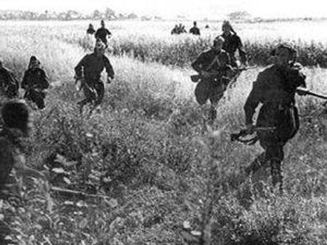 В 1941 году началось партизанское движение в Украине