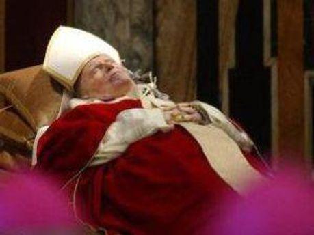 Мощі Іоанна Павла II  вже у Києві