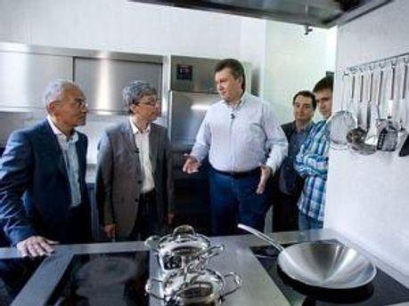 Кухня Президента у резиденції