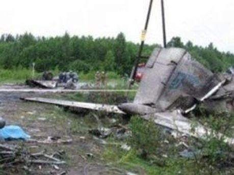 Розбитий Ту-134