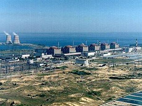 На Запорізькій АЕС відключено енергоблок