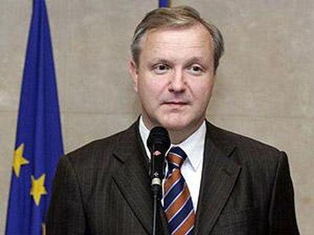Комісар Євросоюзу з економіки Оллі Рен