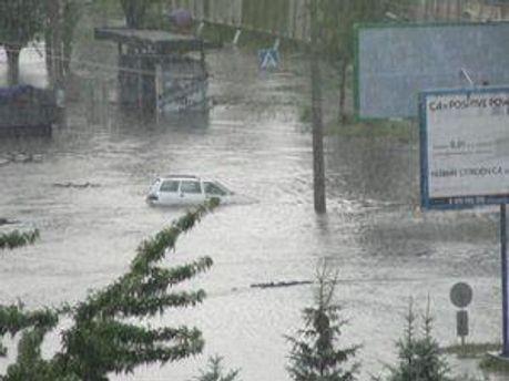 Подтопленные Черкассы