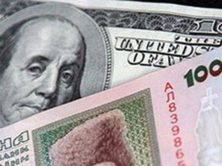 Украинцы выбирают гривну и доллар