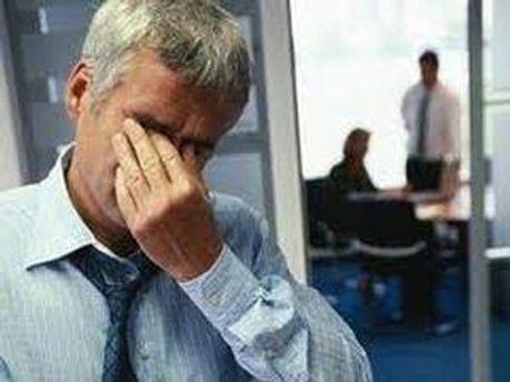 В стрессовом режиме работают 77% мужчин