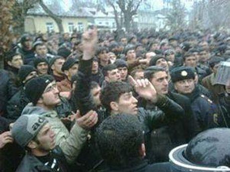 Масові заворушення в Азербайджані