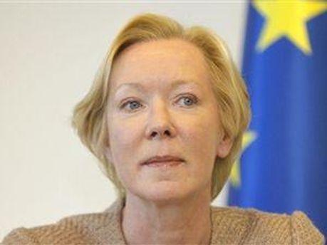 Глава представництва ЄС в Білорусії Майра Мора