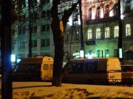 Московская полиция ищет бомбу в штабе