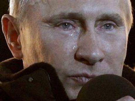 Свою промову Путін закінчив словами