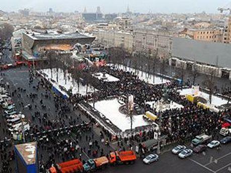 Пушкинская площадь в Москве