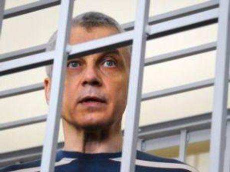 Валерий Иващенко во время судебного заседания