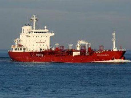 Танкер направлялся в сторону Аденского залива