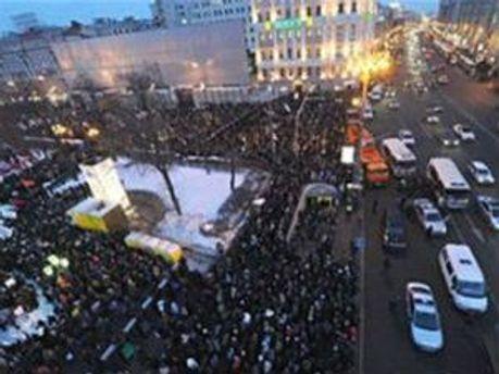 Пушкінська площа в Москві