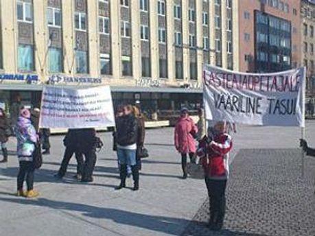 Протесты учителей охватили всю страну