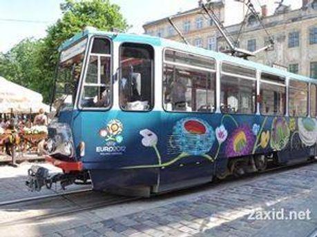Трамвай будет курсировать 2 часа