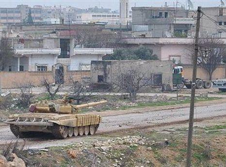 Тим часом у Хомсі тривають обстріли опозиціонерів