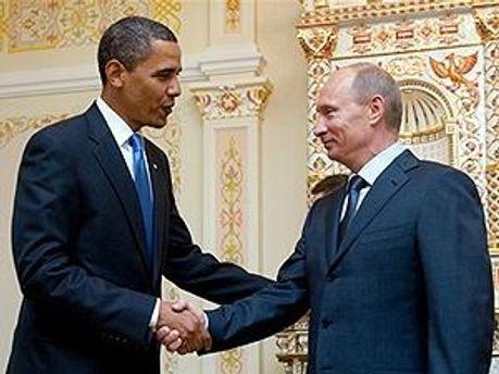 Барак Обама і Володимир Путін
