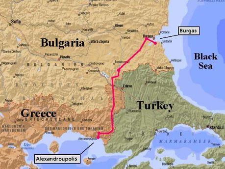 Нефтепровод Бургас-Александруполис