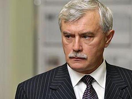 Губернатор Санкт-Петербурга Георгій Полтавченко