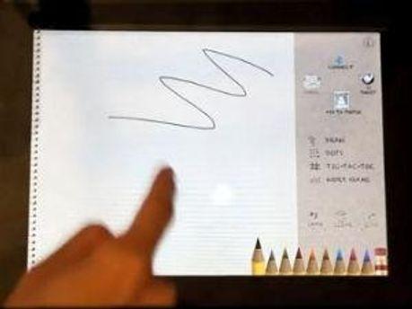Кадр из видеозаписи Microsoft Research