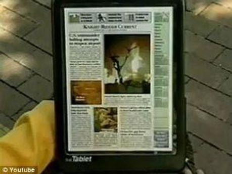 Так выглядел планшет, созданный в 1994 году