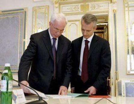 Азаров поручил Хорошковскому проконсультироваться с участниками рынка
