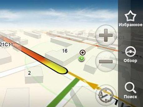 Сервис определяет оптимальные маршруты по километражу и времени